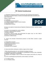 Folha Dirigida - Direito Constitucional TRT