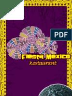 Fiesta Mexico Dinner