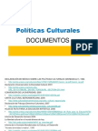 Enlaces Documentos Politica Cultural