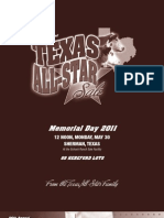 Texas All-Star Sale Catalog 2011