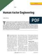 Human Factor Engineering