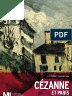Exposition Cézanne et Paris - dossier de presse