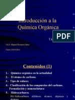 Unidad 15 Introducción a la química orgánica