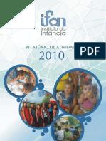 Relatório de Atividades IFAN 2010