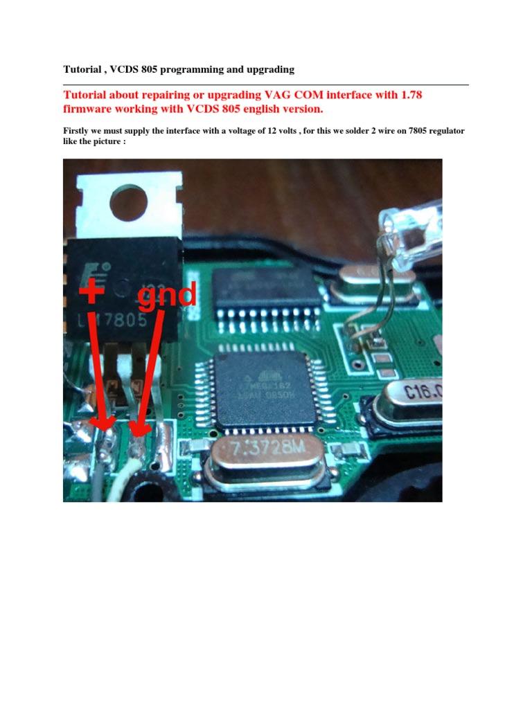 Tutorial Reprogramar Vagcom