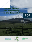 Climate Change and Biodiverstiy in the Tropical Andes