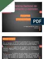 Nuevos lineamientos nivelación y admisión