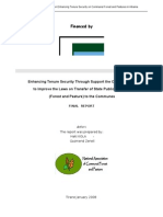 Enhancing Tenure Security in Albanian Forest Land
