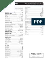 Adobe Dream Weaver CS3 Useful Keyboard Shortcuts Mac