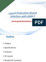 Zigbee Module Interface With ARM7