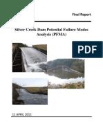 Silver Creek Dam Potential Failure Modes Analysis (PFMA)