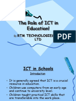 Ict in Education RTM