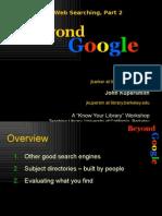 BeyondGoogle-EvaluationWeb