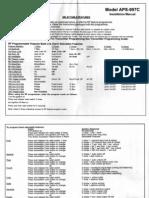 Prestige APS997C Manual de Instalación