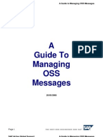 A Guide to Managing OSS Messages 20-05-2008