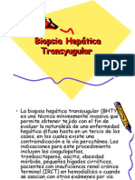 Biopsia Hepática Transyugular