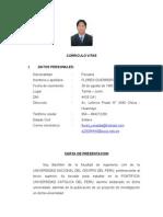 c.v Ronald Flores - 02-04-11