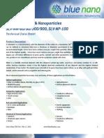 Silver Nano Materials Technical Datasheet