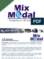 PORTIFÓLIO MIX MODAL Logística e Eventos