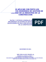 ART+CULO Calidad en la Industria de la Construcción