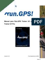 Manual Run Gps