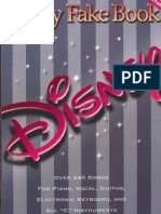 6241877 Partituras Disney Fake Book 240 Songs Piano and Vocal