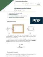 1. Transformatorul şi inductanţa mutuală   circuiteelectrice