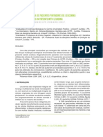 Análise citogenética de pacientes