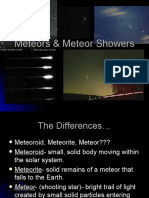 Meteors & Meteor Showers