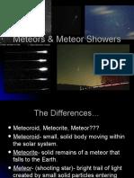 Meteors & Meteor Showers