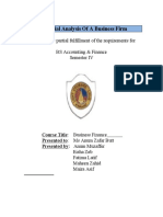Business Finance Final Project