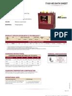 Trojan T105 Battery_DataSheet