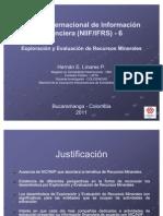 Presentacion NIIF-6 (May 2011)