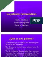 las patentes farmacéuticas