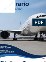 itinerario aeromexico