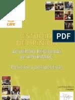 Estudio de Opinión acuerdo regional posición y perspectivas