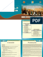 Marco Estratégico y programático para la construcción del acuerdo de gobernabilidad democrática en la región  Puno