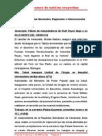 Resumen de Noticias Vesper Ti No 19-05-2011