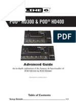 POD HD300 Advanced Guide (Rev D) - English