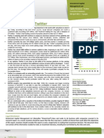 Green Crest Capital - Twitter (Executive Summary)