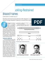 Design of Buckling-Restrained Braced Frames