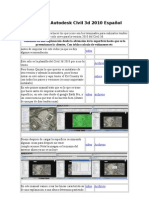 Manuales Autodesk CIvil 3d 2010 Español