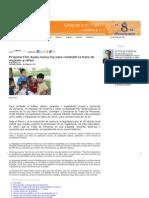 18-05-11 Propone Flor Ayala nueva ley para combatir la trata de mujeres y niños