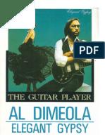 Al Di Meola -Elegant Gypsy (Album Transcription Book)