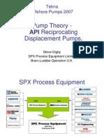 API Pump Theory