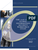 2008 (ISC)2 Global Workforce Study