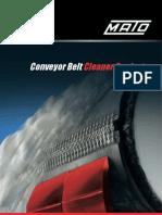 Mato Belt Cleaner Catalogue