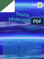 Teoria Mutacionista