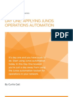 Day One Apply Junos Ops Automation - Juniper Networks PDF
