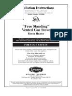 Fv5000_39 - Propane Stove Manual